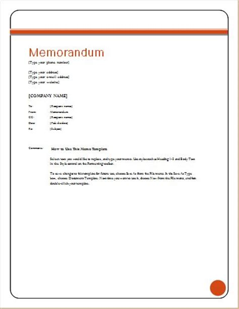 exle memo template 24 free editable memo templates for ms word word excel