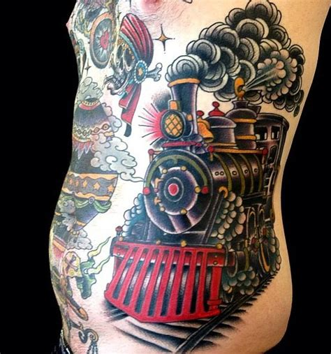 train tattoo judd ripley cool