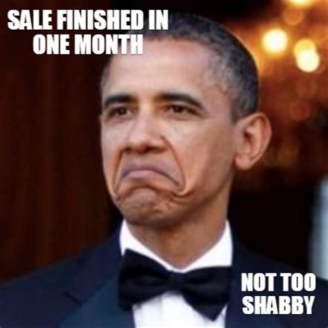 meme creator sale finished in one month not too shabby