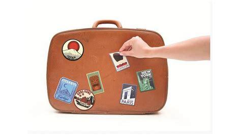Koffer Aufkleber Reise by Koffer Aufkleber