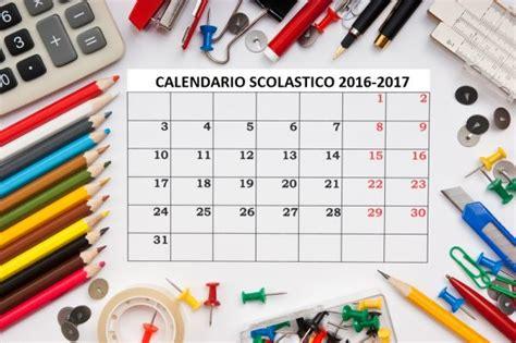 Calendario Scolastico Lazio Calendario Scolastico 2016 2017 Scuola E Vacanze