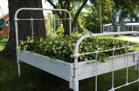 Bed Planter by 15 Creative Garden Containers