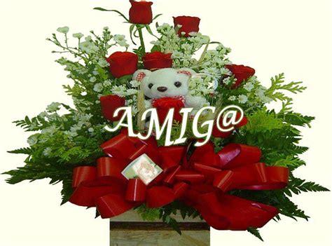 imagenes de flores para un amigo un bonito ramo de rosas rojas para mi mejor amigo a