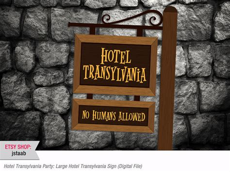 Hotel Transylvania Decorations by Unavailable Listing On Etsy