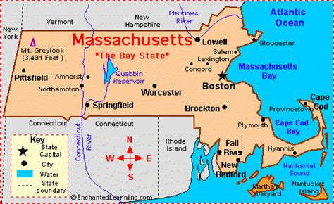 massachusetts map usa