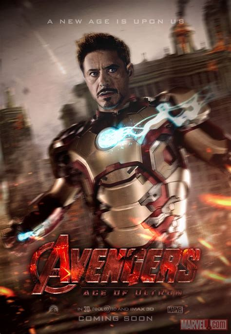 film fantasi hollywood 2015 avengers age of ultron teaser poster by skinnyglasses