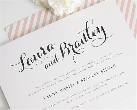 Wedding Album Design Fonts by Best Album Of Calligraphy Wedding Invitations Theruntime