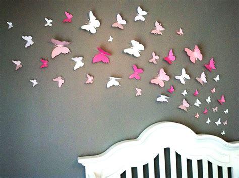 chambre enfant papillon d 233 co chambre papillon
