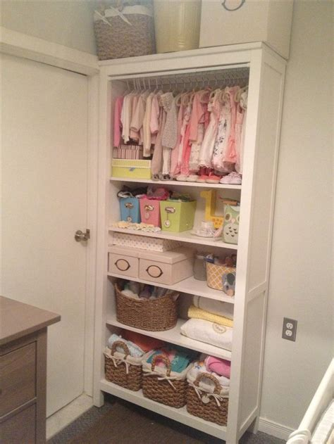 bookshelf closet baby room babies clothes