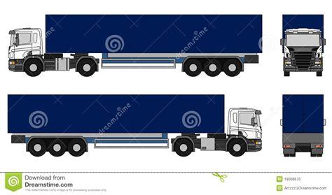 semi trailer truck semi trailer truck stock photo image 18008670