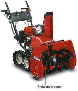 Honda Hs928 Snowblower Honda Snowblower Right Snow Blower Auger Hs828 Hs928 72410