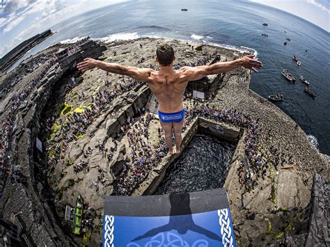 bull cliff dive the world s most spectacular cliff diving spots