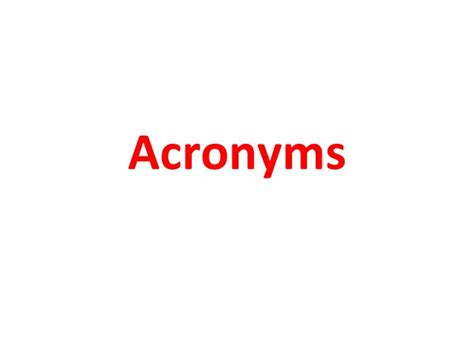 ram acronym acronyms