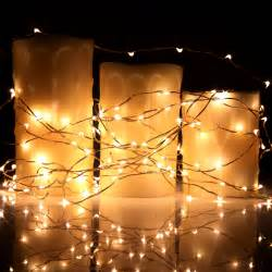 led string lights 40ft 120 micro led string lights on copper wire for