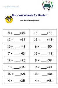 ideas about math worksheets for grade 1 pdf easy