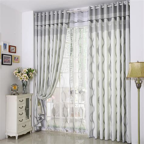 modern style curtains funny gray striped curtains with modern design
