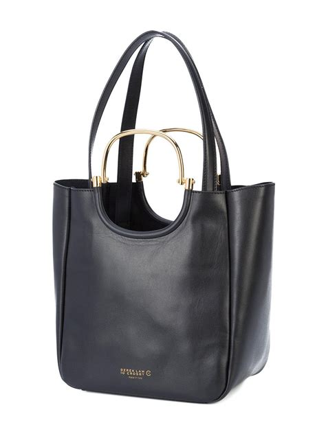 Derek Lam Large Tote by Lyst 10 Crosby Derek Lam Large Tote Bag In Black