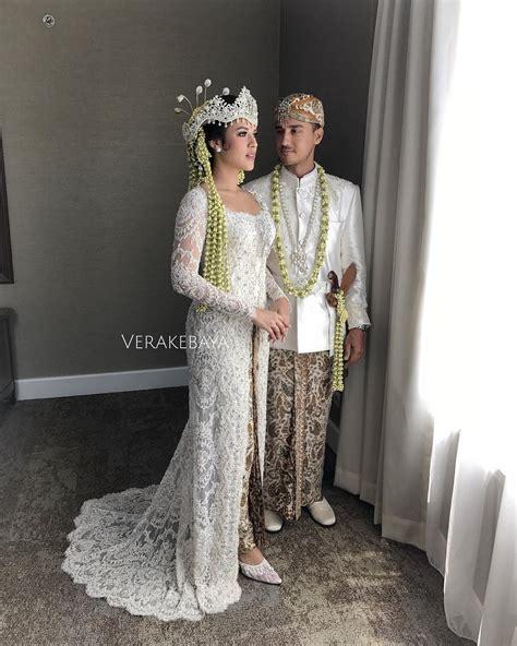 Kebaya Now Melati Putih ningrat mewah 15 kebaya cantik untuk pernikahan adat sunda
