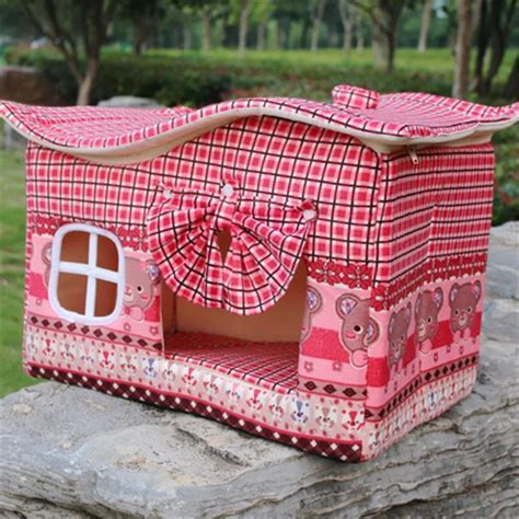 princess dog houses princess pet animal beds dog house dog kennel cute wavy room cat curtain kennel ebay