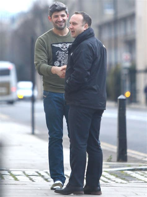 george michael s ex fadi fawaz to be kicked out of star s george michael s boyfriend fadi fawaz looks upbeat and