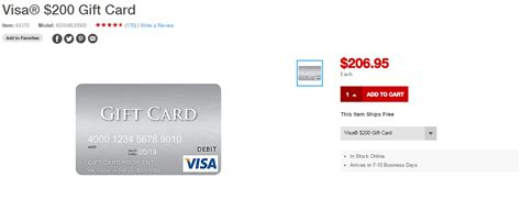 Visa Gift Card Denominations - 200 visas return to staples com without the limit of 3 frequent miler