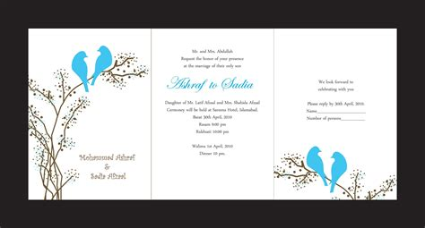 Wedding Invitation Card Design Free by Invitation Cards Printing Wedding Invitation Card