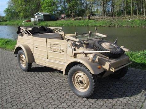 vw kubelwagen for sale 1944 volkswagen type 82 k 252 belwagen is listed sold on