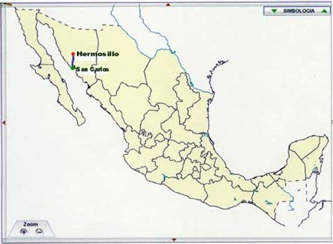 hermosillo sonora mexico map image gallery hermosillo mexico
