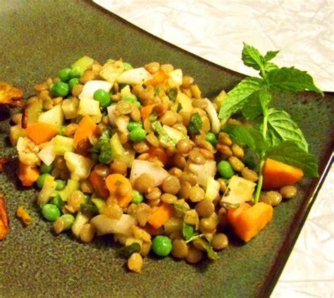 Garden Vegetable Recipes Garden Vegetable Lentil Salad Recipe Food