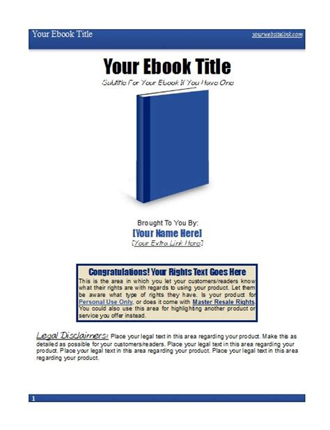 pdf ebook templates ez ebook template package 3 ez ebook templates