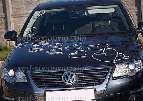 Hochzeitswagen Deko by Hochzeitsauto Deko Ratan Herz