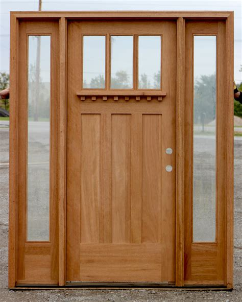 Craftsman Exterior Doors with Craftsman Exterior Doors In 7 0 Quot