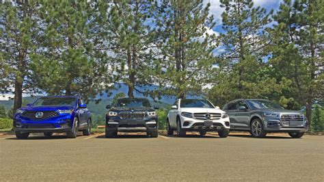 comparison test acura rdx  audi  bmw  mercedes benz glc volvo xc autoblog
