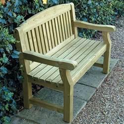 small garden bench seat gt garden furniture tate fencing