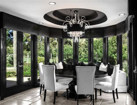 black and white dining room ideas 20 dining room table designs ideas design trends