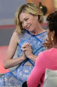 portia hair company portia de rossi on gma as she jokes about rumours of