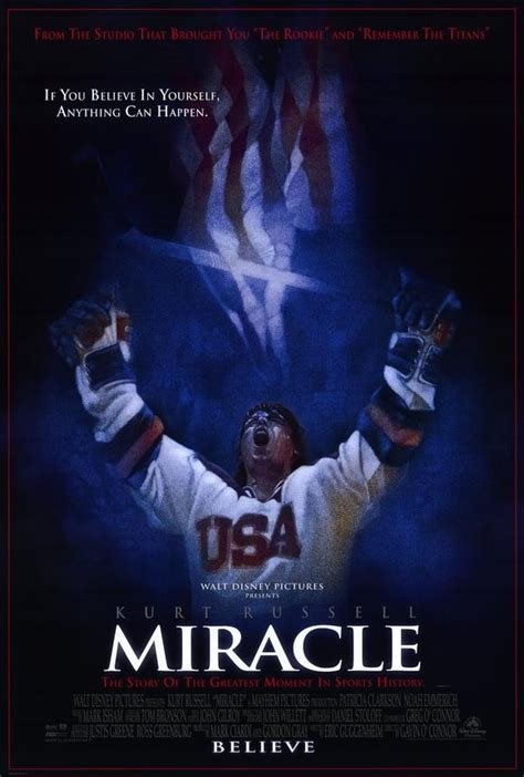 The Miracle Story Hockey Miracle Do You Believe In Miracles Our Favorite Sports Posters