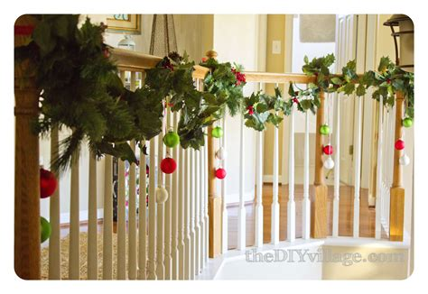 garland for banister christmas garland for banister neaucomic com