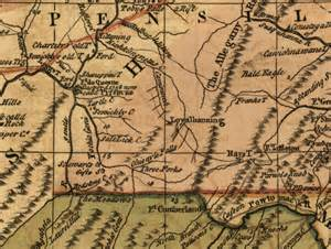 Pennsylvania Colony Map by Map Of Colonial Pennsylvania Submited Images