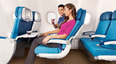 hawaiian airlines comfort seats new extra comfort economy for hawaiian airlines
