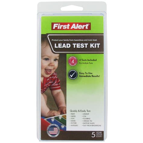 lead test kit easy and affordable lead test kit for