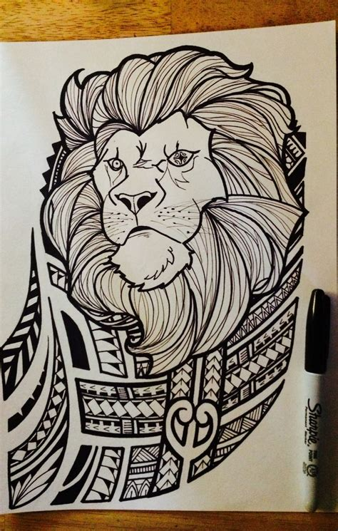 lion tribal print www pixshark com images galleries