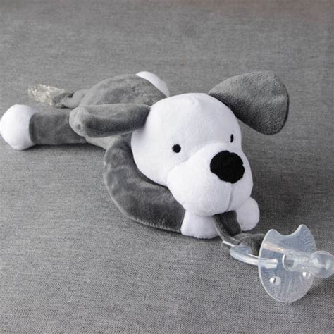 Empeng Bayi Baby Soother 100 Silicon dot empeng bayi model boneka baby silicon pacifier dot gray jakartanotebook