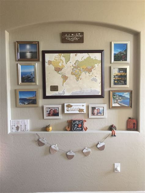 travel wall ideas 25 best ideas about travel gallery wall on pinterest