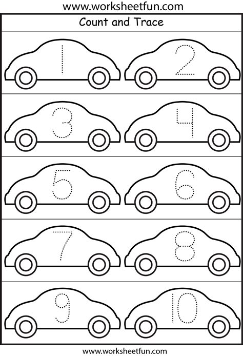 free printable numbers 1 10 worksheets number tracing 4 worksheets free printable worksheets