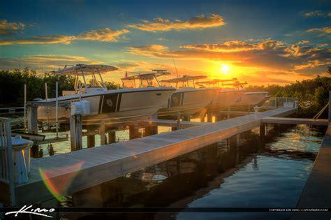 river boat in spanish sunset police boats spanish river park boca raton