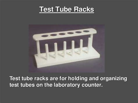 What Is The Function Of Test Rack by 1 4 Laboratory Equipment Names Uses