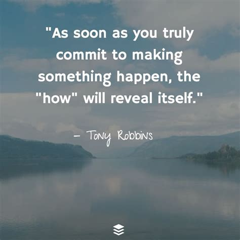 make things happen managing coaching inspiration as soon as you truly commit to something ha