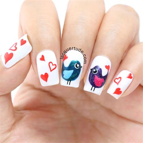 imagenes de uñas decoradas de amor y amistad u 209 as de amor decoradas con corazones 170 dise 209 os u 209 as
