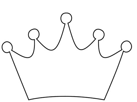 Coloring Page Of A Queen S Crown | crown coloring